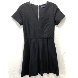Gap V-neck Black Dress with Empire Waist.  Sz 4.